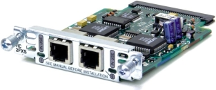 Модуль Cisco VIC-2FXS