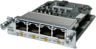Модуль Cisco HWIC-4ESW-POE