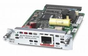 Модуль [GRWIC-ISDN-1B-U]