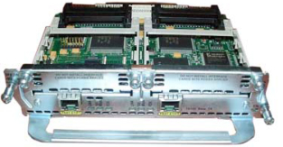 Модуль Cisco NM-2FE2W-V2