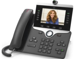 """Конференц-телефон Cisco 8865, 5 x SIP, 2 x GE, Wi-Fi, 5"""" LCD [CP-8865-K9=]"""