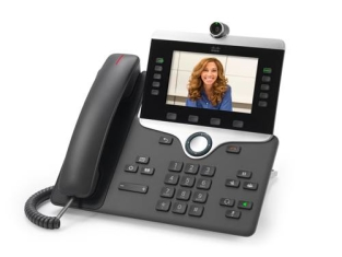 "Конференц-телефон Cisco 8845, 5 x SIP, 2 x GE, 5"" LCD [CP-8845-K9=]"