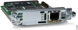 Модуль Cisco VWIC2-1MFT-T1/E1