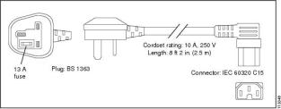Кабель [CAB-AC16A-90L-IN=]