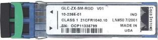 Модуль SFP Cisco GLC-LX-SM-RGD