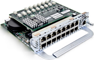 Модуль Cisco NM-16ESW-PWR-1GIG